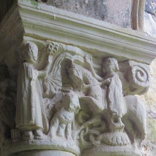 Capiteles figurativos de Santa Juliana