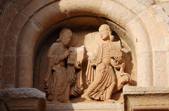 San Pablo y san Juan en la Catedral de Zamorajpg.jpg